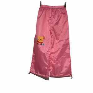 Winnie the Pooh Rain Pants w/Adjustable Hem Sz MD